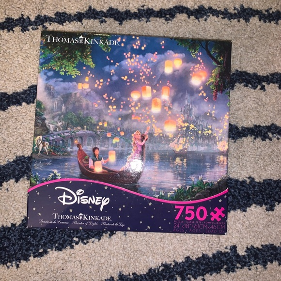 Other - DISNEY TANGLED 750PC PUZZLE